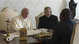 Pope Francis: 'Dialogue, peace, and fight against poverty in Congo'