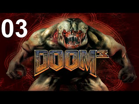 DOOM 3 [03/27] - Mars City: Union Aerospace Corporate Division | Let's Play Doom 3