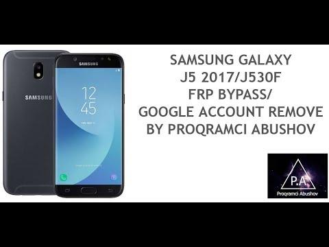 Samsung Galaxy J530F J530H J530G /J5 2017 ANDROID7 FRP BYPASS/GOOGLE  ACCOUNT REMOVE /2018 NEW METHOD by Shukur Tech
