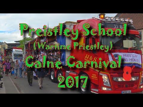 Calne Carnival - Priestley School Float (Wartime Priestley)