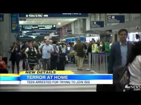 Chicago Teen Mohammed Hamzah Khan Arrested By FBI For Allegedly Wanting To Join ISIS!!!