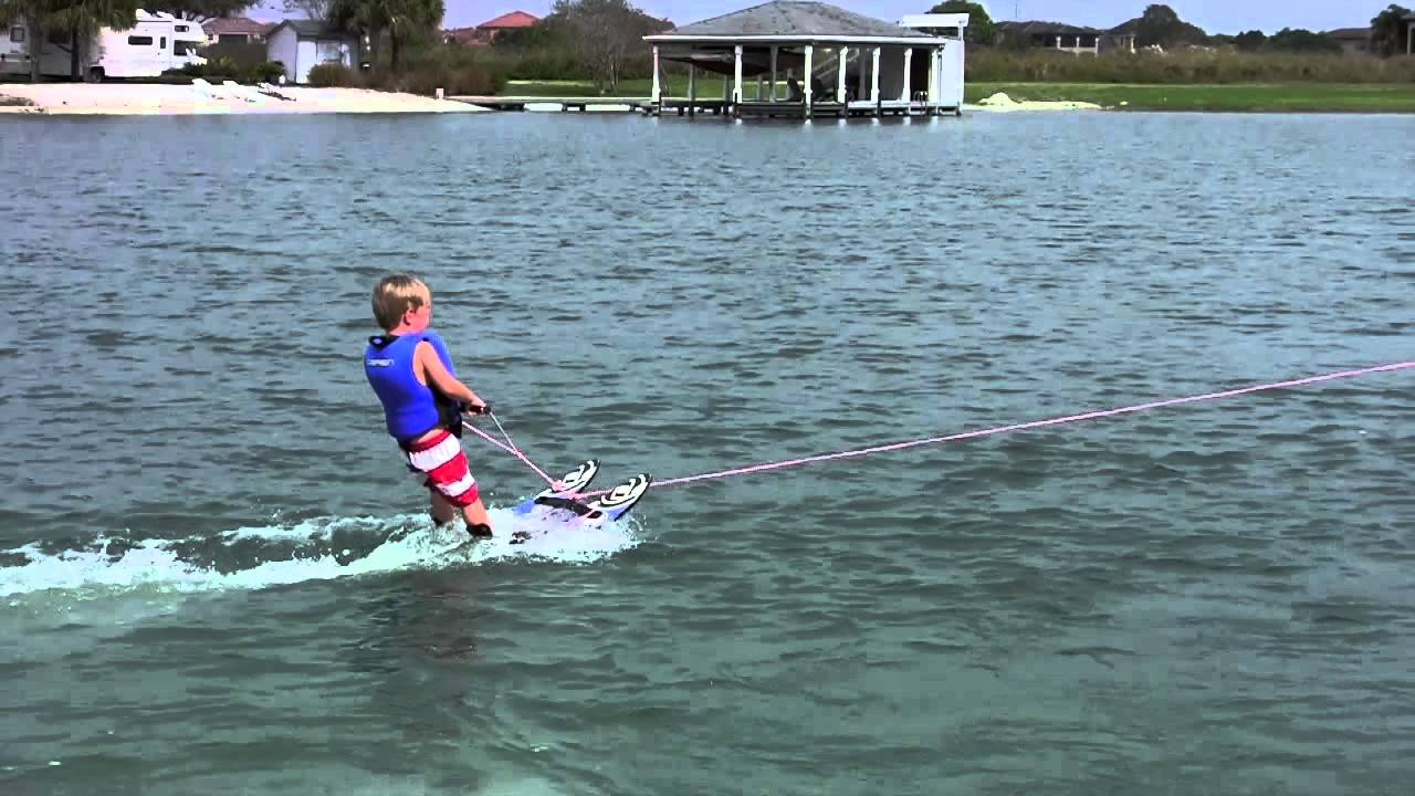 Teach Your Kids To Water Ski In 25 Seconds Youtube