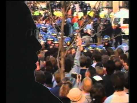 London Poll Tax Riot Documentary 1990 - The Battle of Trafalgar FULL