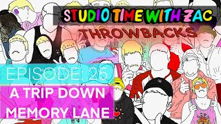 A TRIP DOWN MEMORY LANE - Studio Time With ZAC THROWBACKS #025 - Zachary Rutter Art