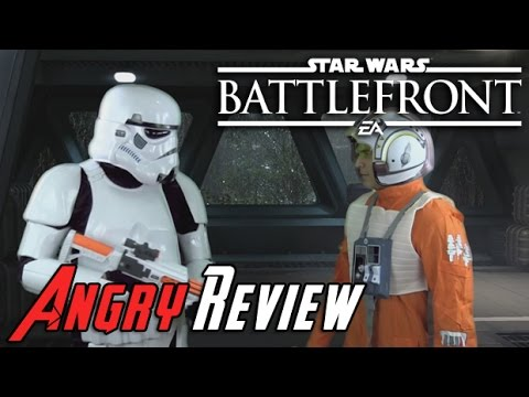 Star Wars Battlefront Angry Review