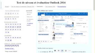 test outlook 2016
