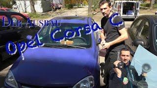 Opel Corsa C Bj. 2003 Scheibentausch, was müsst Ihr abbauen, ausbauen bzw. beachten
