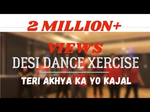 AAKHYA KA YO KAJAL / DESI DANCE EXERCISE ™ / DESI DX / ANSAR KHAN CHOREOGRAPHY