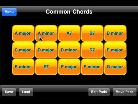Guitar Chord Generator And Player Youtube