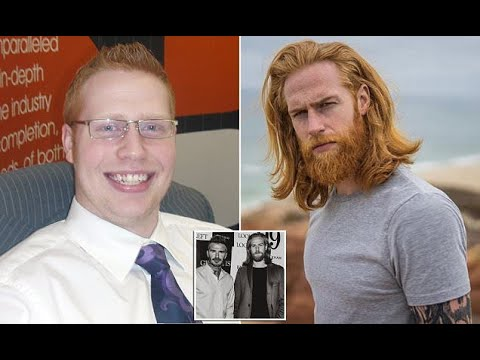 Ginger male model