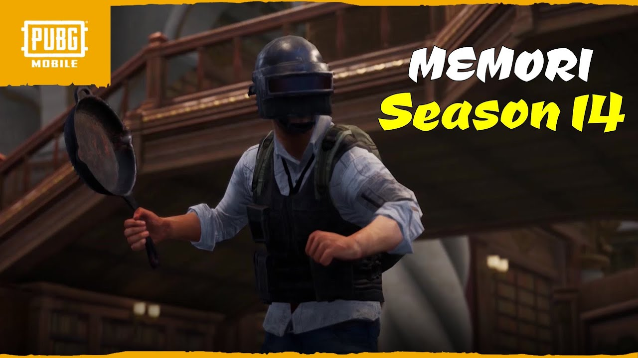 Semua Memori di PUBG Mobile Season 14