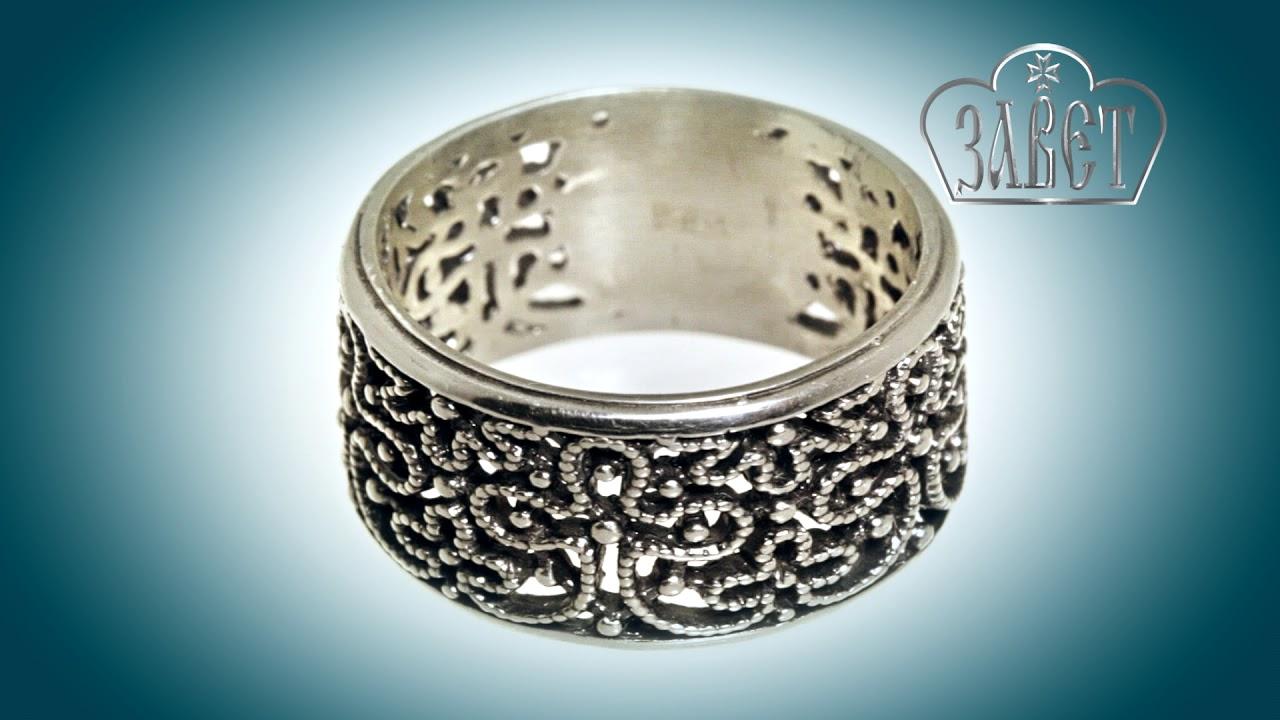 кольцо Процветший крест, 31000
