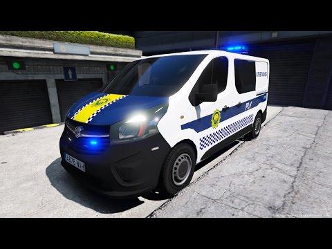 GTA V LSPDFR: Dia 54 Opel Vivaro Policia Local de Valencia PLV