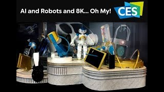 Best and Latest  Robots Of CES 2019