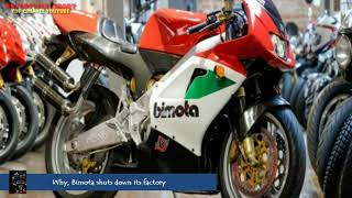Why, Bimota shuts down its factory!