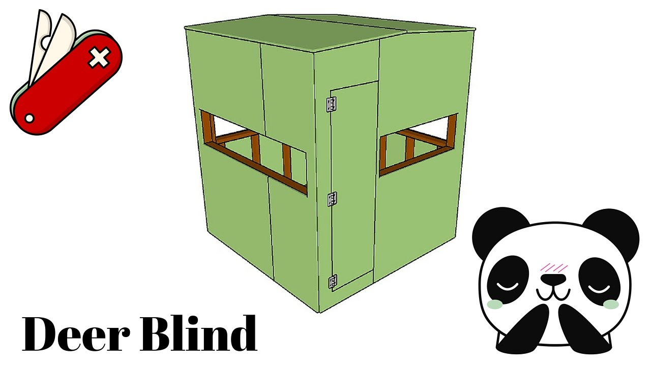 Deer Blind Plans Youtube