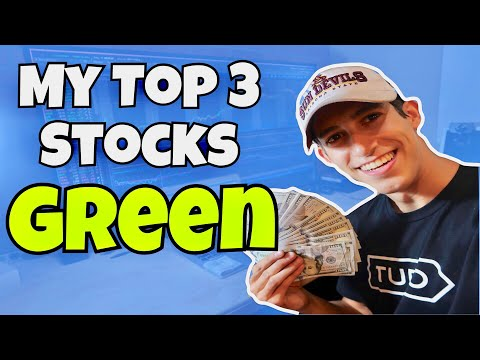 My Top 3 Stocks Are Green | Live Trading Pre-Market