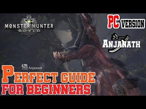Monster Hunter World Beginner Guide&Tips Hunting Anjanath / MHW [한국어지원] thumbnail