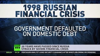 20yrs since worst crisis hit Russian economy: Challenges, survival & revival