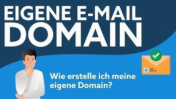 Eigene E-Mail Domain   Einfach selbst erstellen