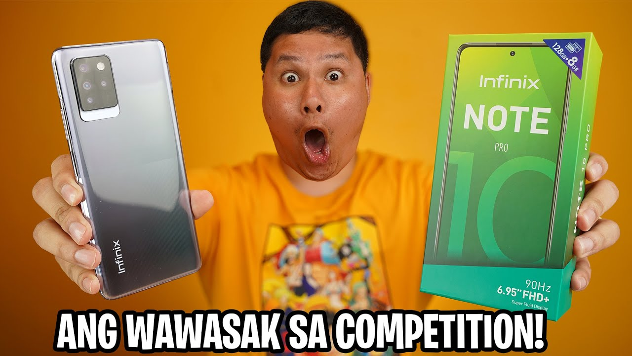 INFINIX NOTE 10 PRO UNBOXING - MALUPIT NA 8GB RAM UNDER PHP10,000