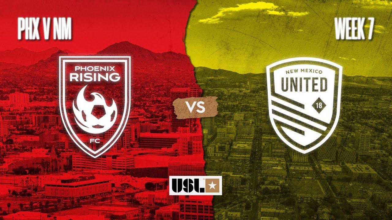 Phoenix Rising FC vs. New Mexico United: August 8, 2020
