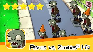 Plants vs  Zombies™ HD Adventure 1 Day Level 04 Part 1 Walkthrough The zombies are coming! Recommend