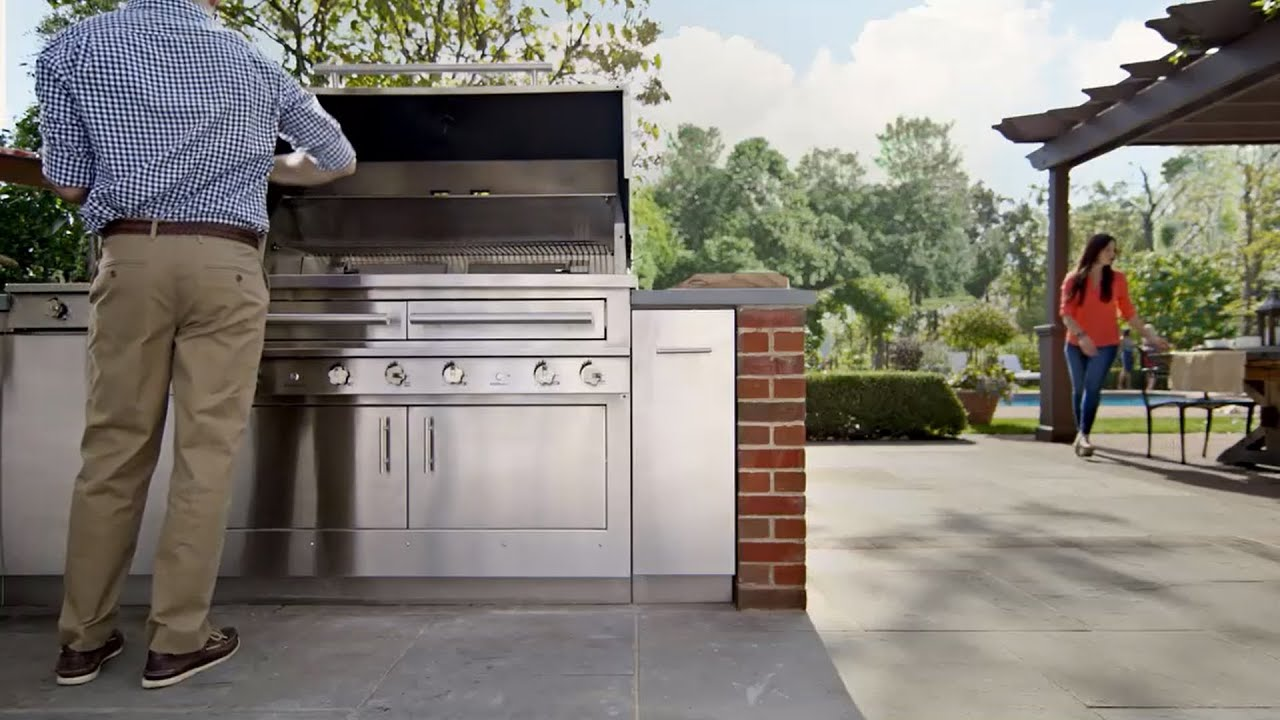 The Ultimate Outdoor Kitchen By Kalamazoo Gourmet