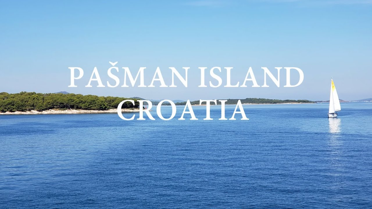 Pašman, Croatian island with clearest sea and biggest green surface - in Zadar archipelago