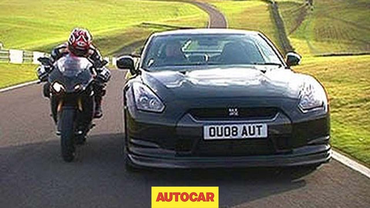 Car Vs Bike Nissan Gt R Vs Ducati By Autocar Co Uk Part Two