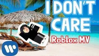 [Roblox MV] Ed Sheeran & Justin Bieber - I Don't Care