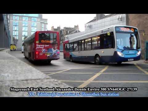 Half An Hour At Edinburgh Bus Station