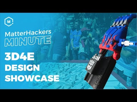 MatterHackers Minute // 3D4E 3D Design Conference