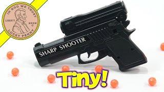 Sharp Shooter Mini Toy Gun By Wanda, Aim & Fire!