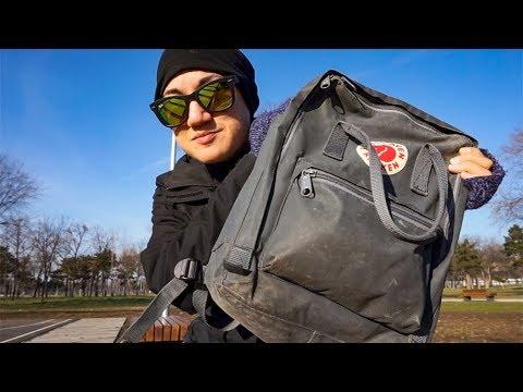 WHAT'S IN MY DAY BAG   Belgrade, Serbia   Minimalist Travel