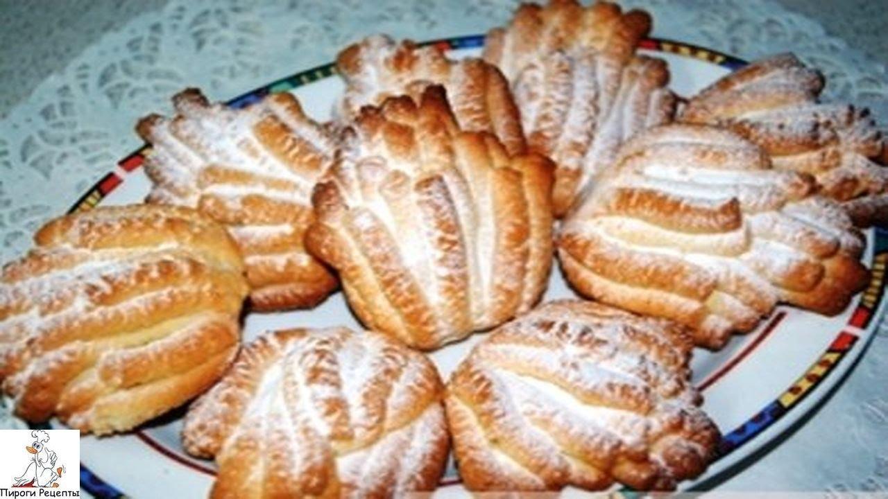 Печенье хризантема через мясорубку