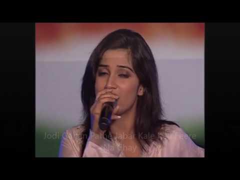SHREYA GHOSAL - EKLA CHALO RE (VIDEO + LYRICS)SONG