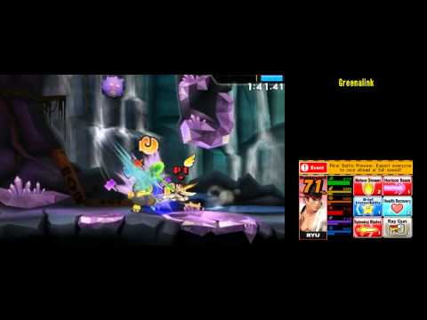 Ryu [230459] Super Smash Bros 4 3DS Smash Run 200,000+ Score run