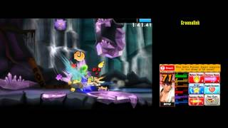 Ryu [230459] Super Smash Bros 4 3DS Smash Run 200,000+ Score run