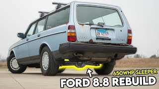 homepage tile video photo for Re-Building the Ford 8.8 Solid Axle In My 650WHP SLEEPER!