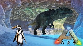 ESPLORO GHIACCIAI CON GIGANOTOSAURI, ADDOMESTICO PINGUINO #68 - ARK SURVIVAL EVOLVED GAMEPLAY ITA