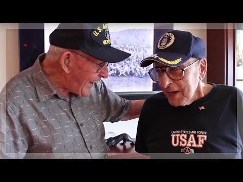 Two WWII veterans reunite after 70 years
