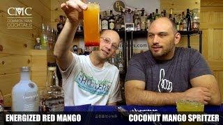 Energized Red Mango & Mango Spritzer, Ok.- Energy