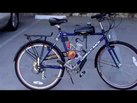 Bicimoto 48 Cc Motorized Bike Bicleta Motor Rikimbili