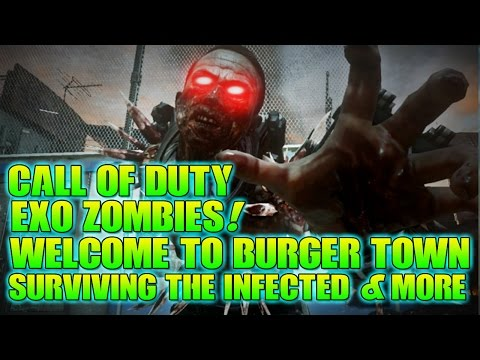 Call of Duty: Exo Zombies - Infection - Welcome To Burger Town + Surviving The Undead