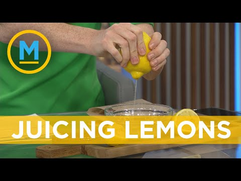 This lemon squeezing hack is going viral and it really works (we try it on live TV) | Your Morning