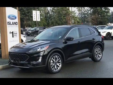 2020 Ford Escape Titanium Hybrid Review  Island Ford