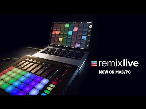 Remixlive for Mac/PC - Introduction