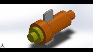 solidworks tutorial | cotter joint | exploded view