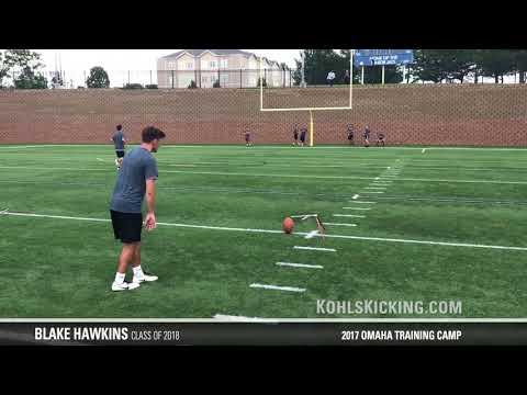Blake Hawkins   2017 Omaha Training Camp